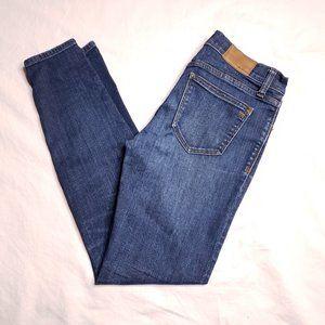 """Madewell Size 27 8"""" Skinny Medium Wash Stretch"""